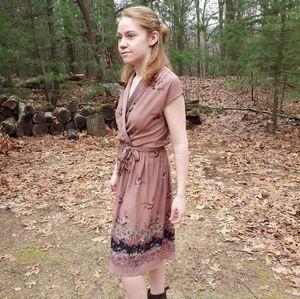 Vintage Mauve Dress